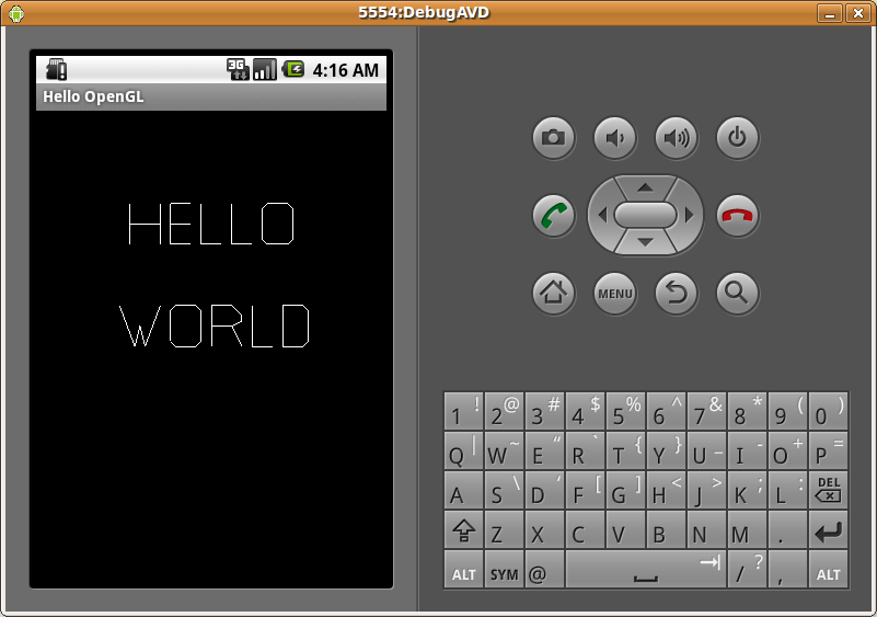 Hello World OpenGL